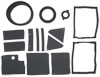 Click to view: 67-68 HEATER SEAL KIT, WITH A/C